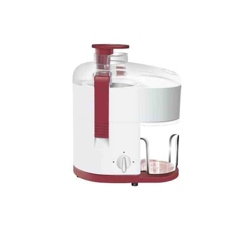 Morsel Pearl-001 450W White & Red Juicer Mixer Grinder