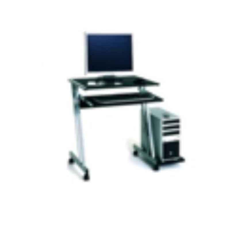 Suwas 60x45x80cm Steel & Wood Desktop Table, SU-DESKT-005