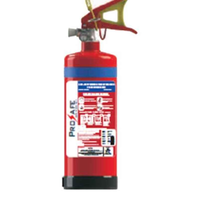 Prosafe 2kg ABC Stored Pressured MAP 50% Fire Extinguisher with ISI Mark
