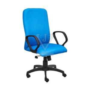 VJ Interior 18.5x20 inch Light Blue Mesh Fabric Executive Chair, VJ-1444