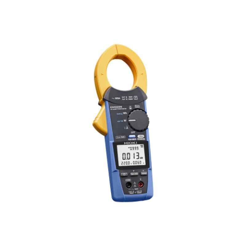 Hioki Single & Three-Phase Handheld Clamp On Power Hi-Tester, 3286-20