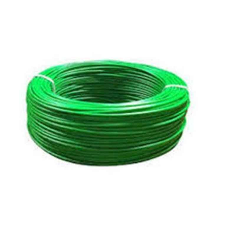 Cabsun 0.75 Sqmm Green Single Core FR PVC Insulated Copper Electrical Wire