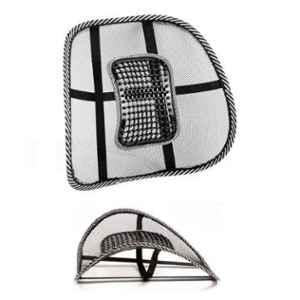 K Kudos Black Mesh Car Back Pain Relief Cushion