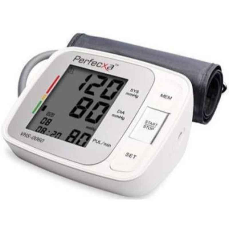 Perfecxa VHS0060 White Blood Pressure Monitor