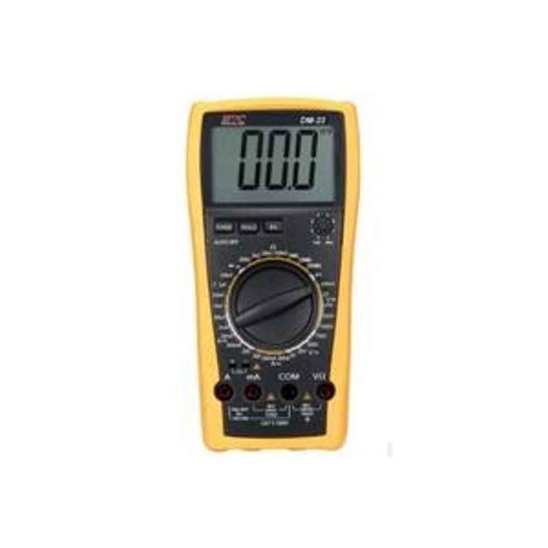 HTC DM-23 Digital Multimeter AC Voltage Range 10µV to 750V DM to 23