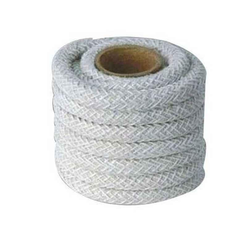 Olympia 6mm Dust Free Round Asbestos Rope, Weight: 5 Kg