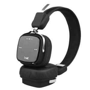 boAt Rockerz 610 Black On Ear Foldable Bluetooth Headphone