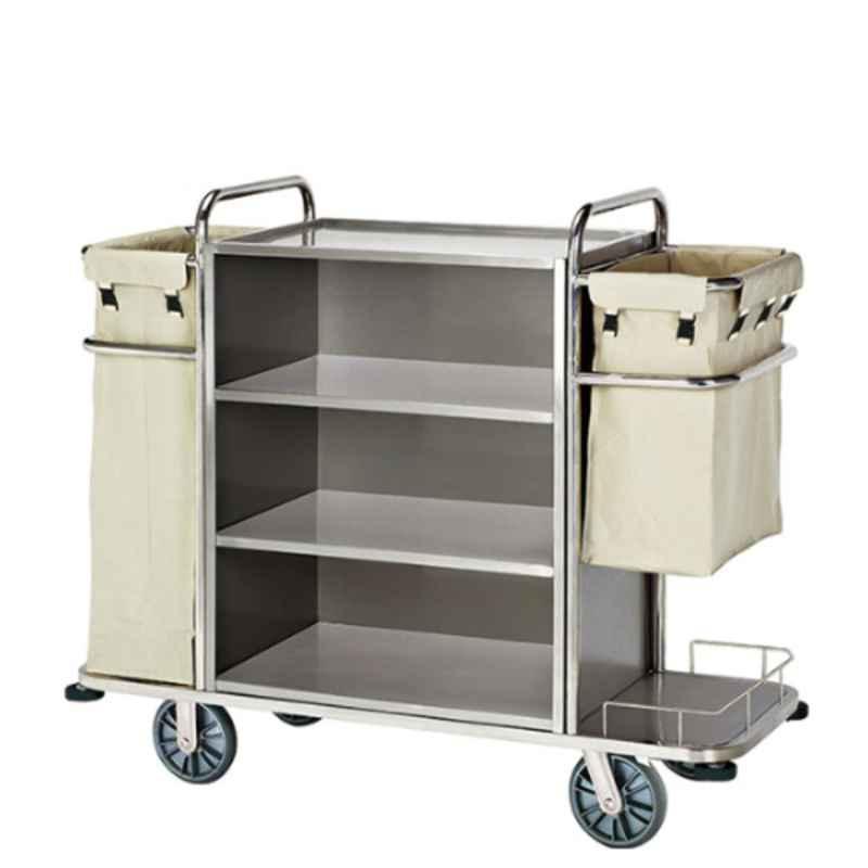 Suwas 100x50x82cm 100kg Stainless Steel Hotel Trolley, SU-SSMHT-HOTELT-008