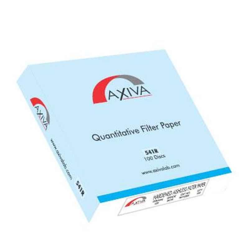 Axiva 46x57cm 25µm R Series Grade 541 Hardened Ashless Filter Paper, 541465 R (Pack of 100)