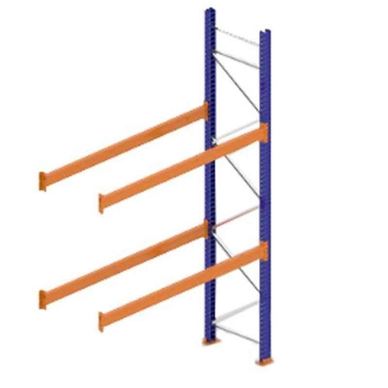 Godrej Ground Plus 2 Layers Steel Selective Pallet Racking, Max Load Capacity: 4000kg, Add on Unit: 3500x2300x800mm (HxWxD)