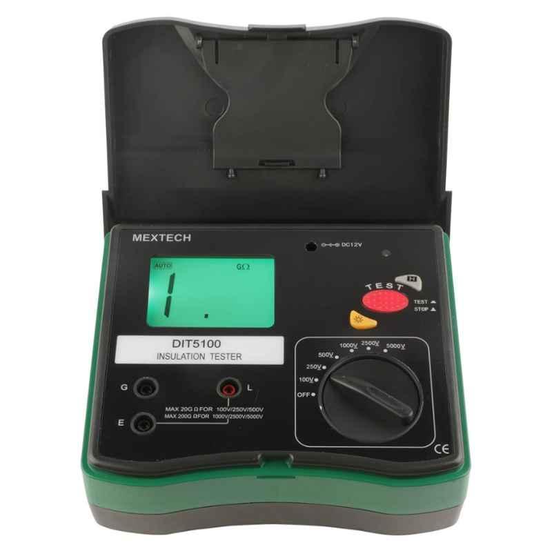 Mextech DIT-5100 Digital Insulation Tester