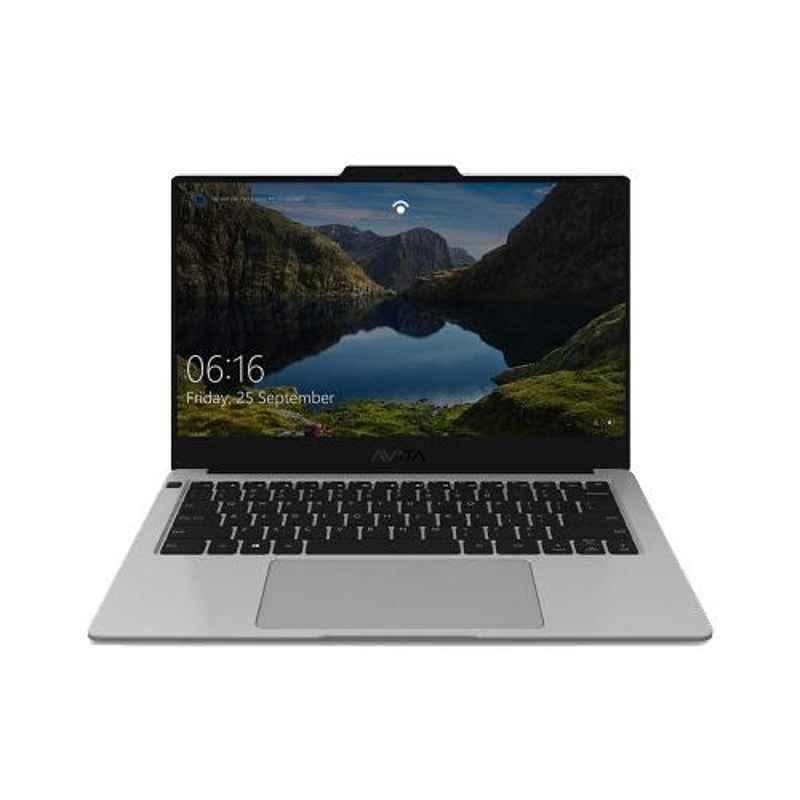 AVITA LIBER AMD Ryzen 5-3500U/8GB DDR4/512GB HDD & 14 inch Display Anchor Grey Laptop with 2 Years Warranty, NS14A8INV561-AGA