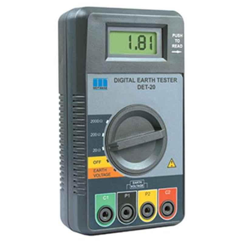 Motwane Det-20 Digital Earth Tester with Kit