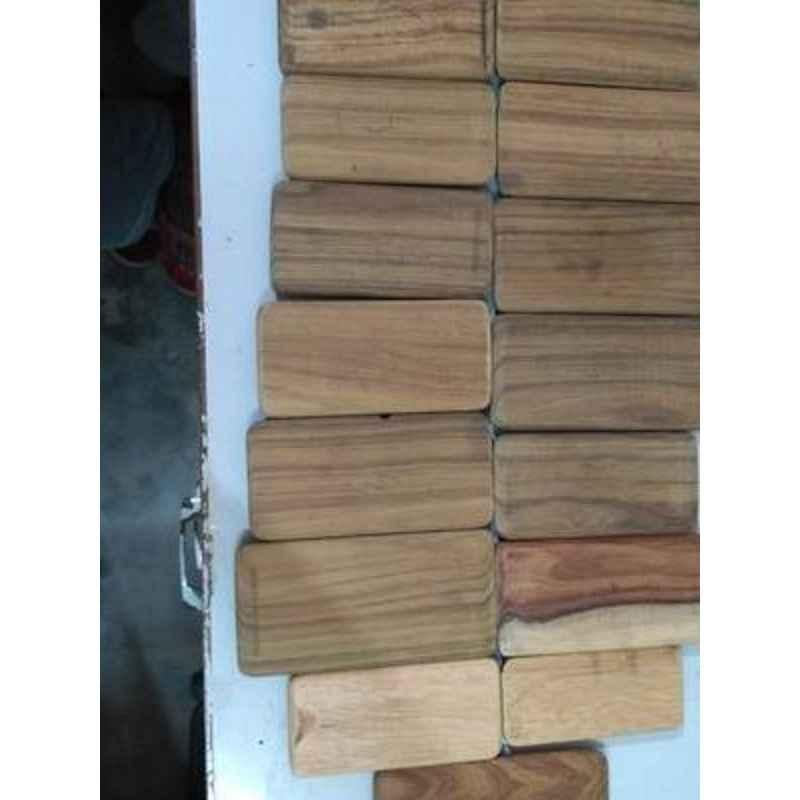 Brown 3D Sublimation Wooden Mould for Mobile Cover Printing