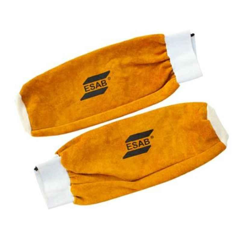 ESAB Dura Yellow Split Leather Hand-Sleeves, Size: Standard