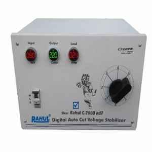 Rahul C-7000AD7 90-280V 7kVA Single Phase Digital Autocut Voltage Stabilizer