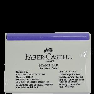 Faber Castell Medium FC Stamppad Violet Stamp Pad