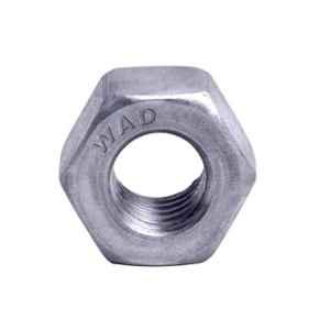 Wadsons M8x1mm White Zinc Finish Hex Nut, 8HN100W (Pack of 10000)