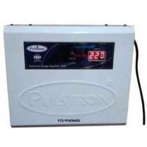 Pulstron PTI-WM3045D 3kVA 45-520V Double & Single Phase White Automatic Mainline Voltage Stabilizer