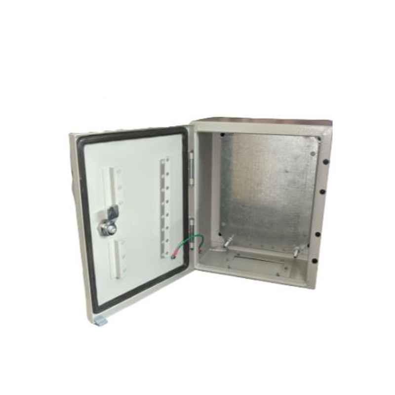 One World Electric 20x30x15cm 2mm Galvanised Iron Panel Box, OWE-PR-203015