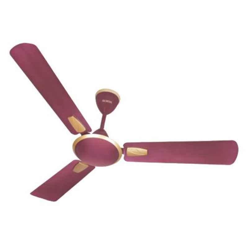 Surya Auris-SX 74W Burgundy Premium Ceiling Fan, Sweep: 1400 mm