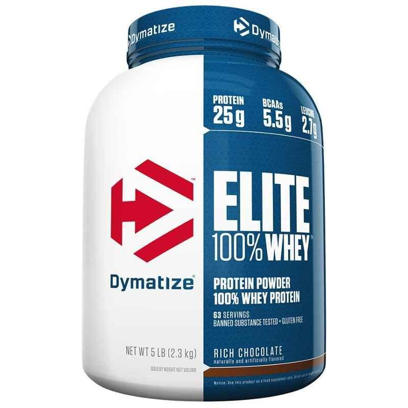 Dymatize Elite 5lbs Gourmet Vanilla Whey Protein
