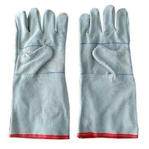 Siddhivinayak 14 inch Leather Hand Gloves (Pack of 10)