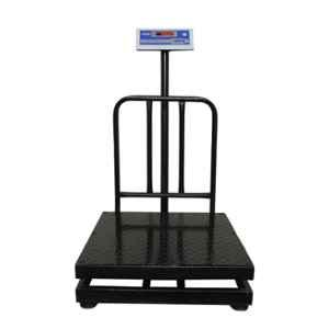 Metis 300kg and 20g Accuracy Stainless Steel Platform Weighing Machine with 1 Year Warranty