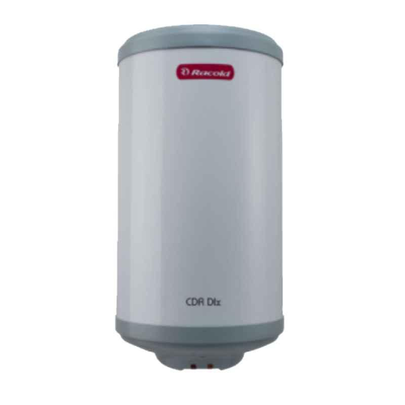 Racold CDR DLX 15L 2kW White 5 Star Horizontal Water Heater