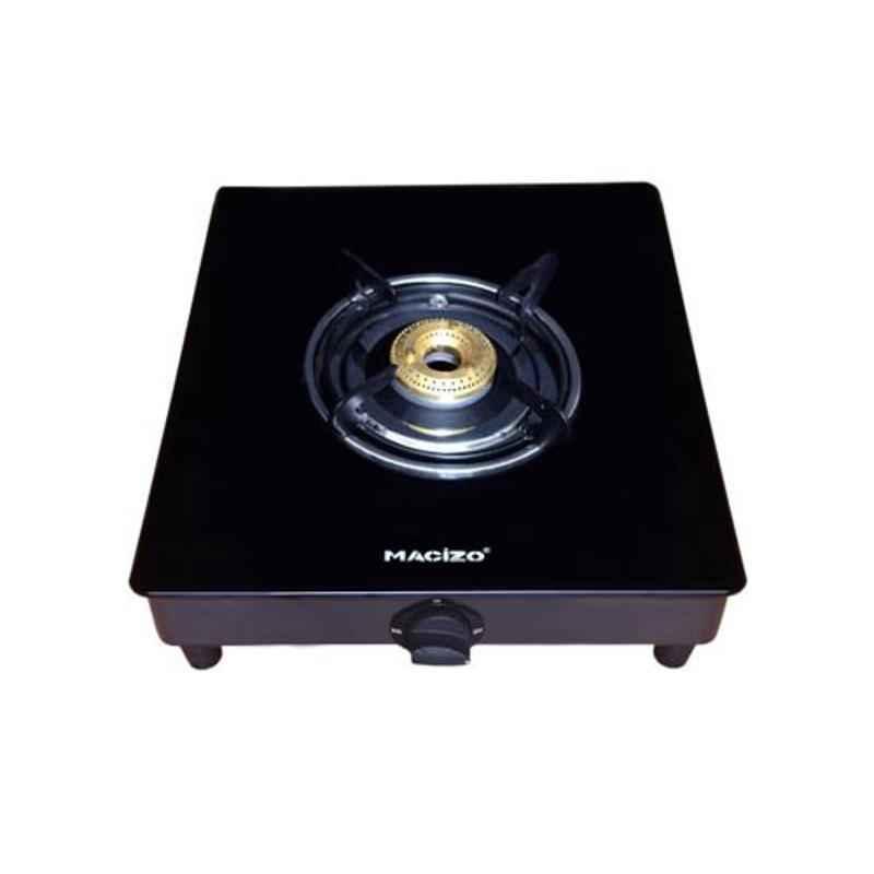 Macizo Imperium 1 Burner Black Manual Glass Cooktop
