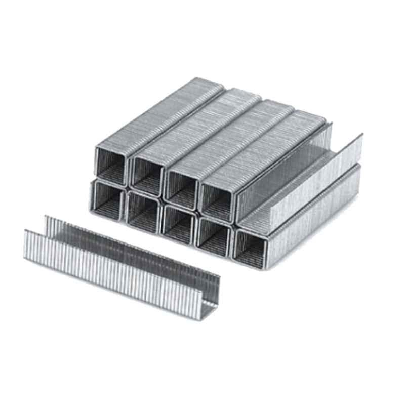 Yato 1000 Pcs 10x10.6mm Steel Staple Pin Set, YT-7024
