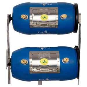 RUR Greenlife Dual XS Blue Aerobic Bio Composter, RGGC Dual XS