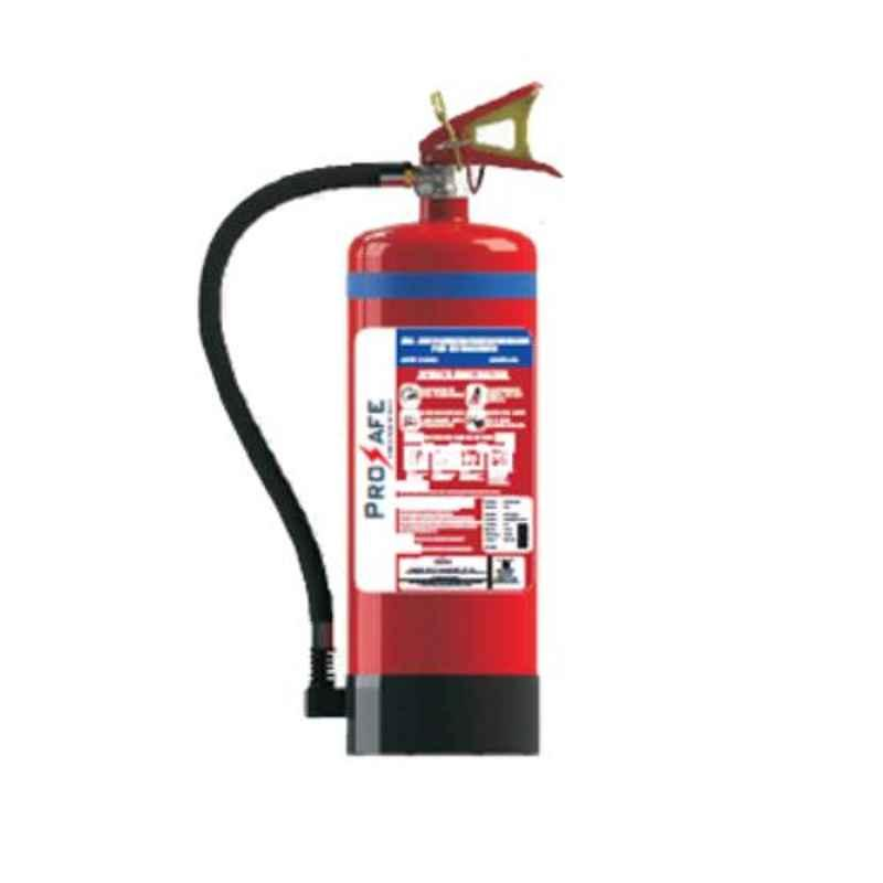 Prosafe BC 4kg Stored Pressured Fire Extinguisher with ISI Mark, PRPQD-4