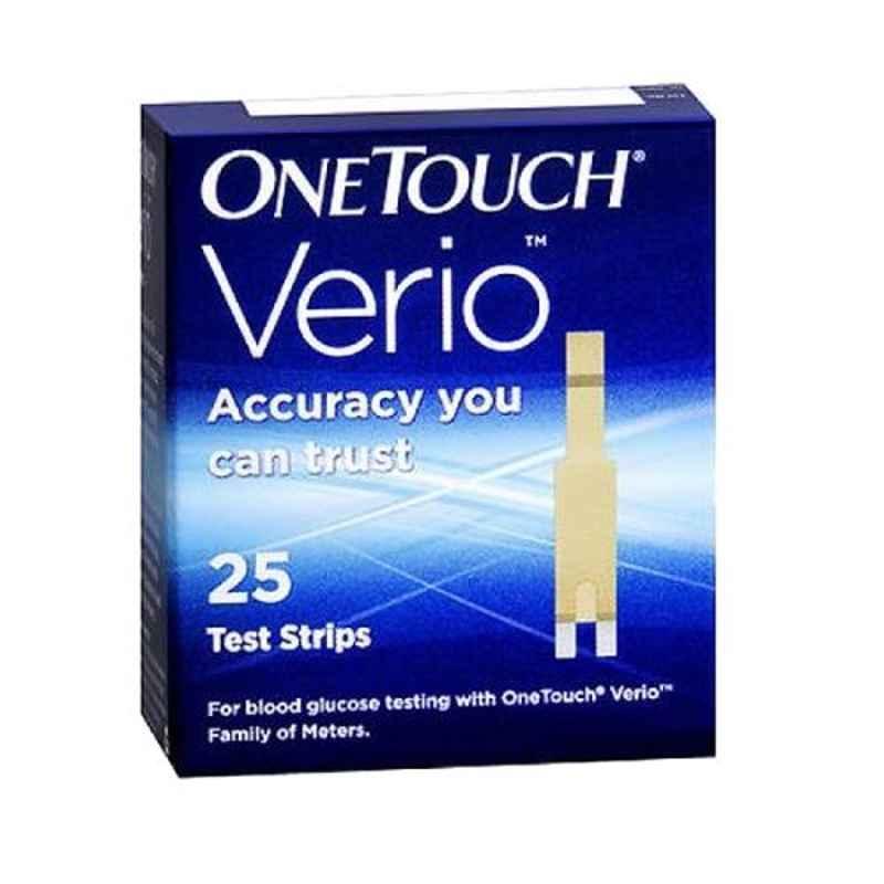OneTouch Verio 25 Pcs Flex Test Strips