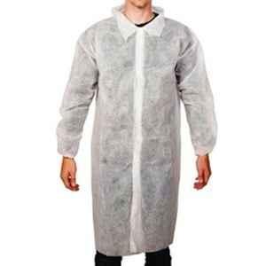 Siddhivinayak White  Non-Woven Lab Coat (Pack of 10)