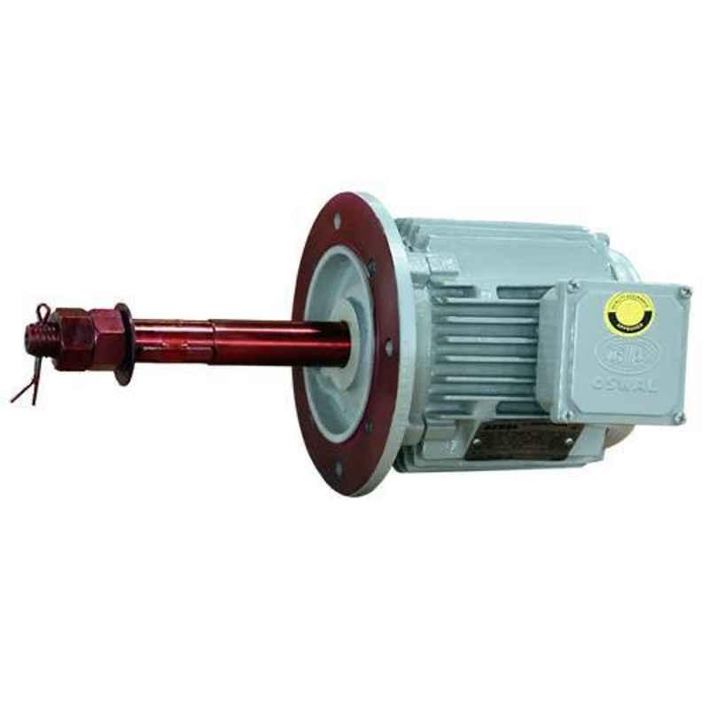 Oswal 5HP 920rpm Three Phase Squirrel Cage Induction Electric Motor, OM-59-CT