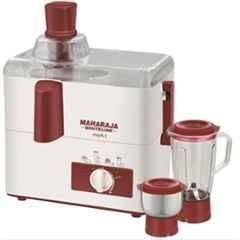 Maharaja Whiteline Mark-1 450W Juicer Mixer Grinder with 1 Year Warranty, JX 100