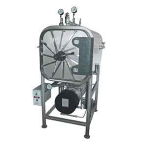 U-Tech 240L Stainless Steel High Pressure Rectangular Steam Sterilizer, SSI-104