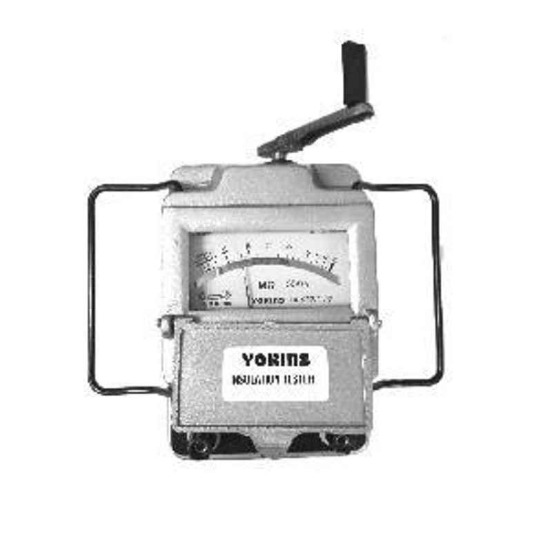 Yokins YOK-IT-500V50MΩ-HDG-MB Hand Driven Generator Type Insulation Tester