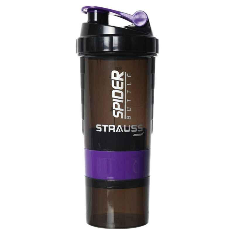 Strauss Spider 500ml Purple Shaker Bottle, ST-1110