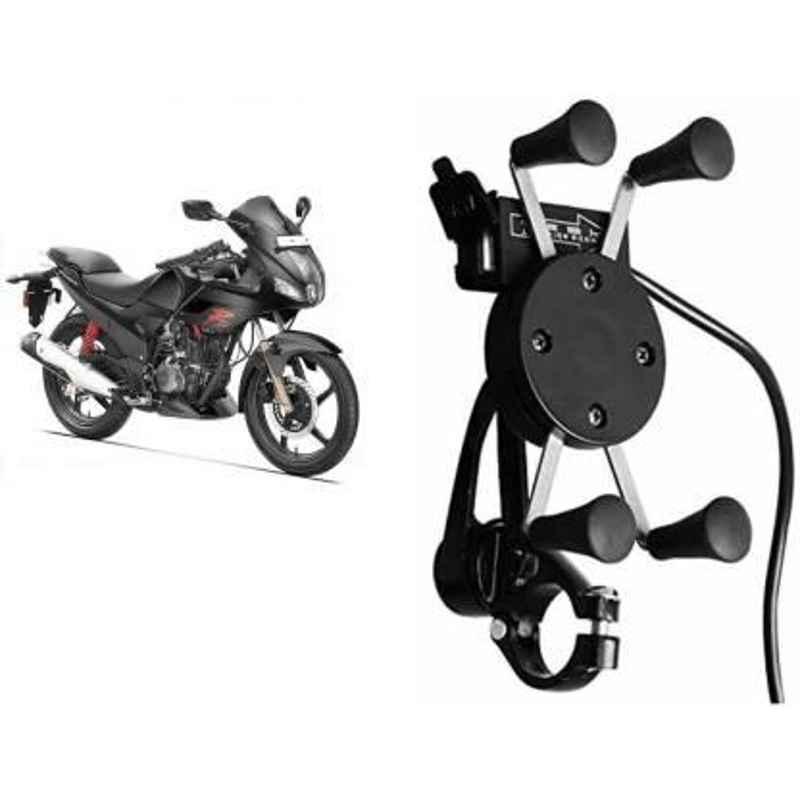JBRIDERZBike Mobile Holder & Charger For Honda Goldwing