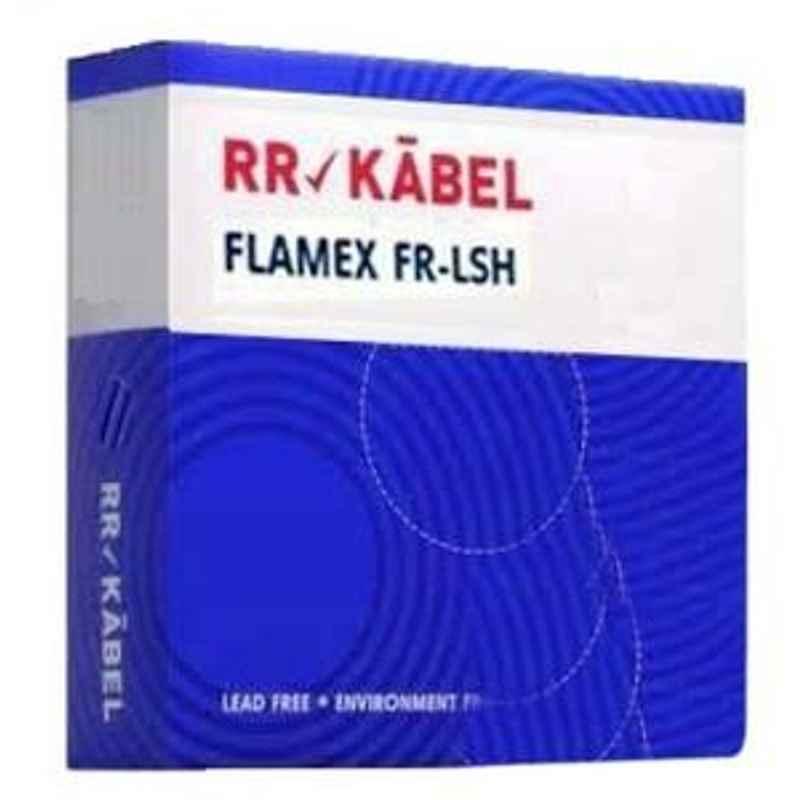 RR Kabel 1.5 Sqmm Black Flame Retardant Low Smoke Halogen Cable, Length: 90 m