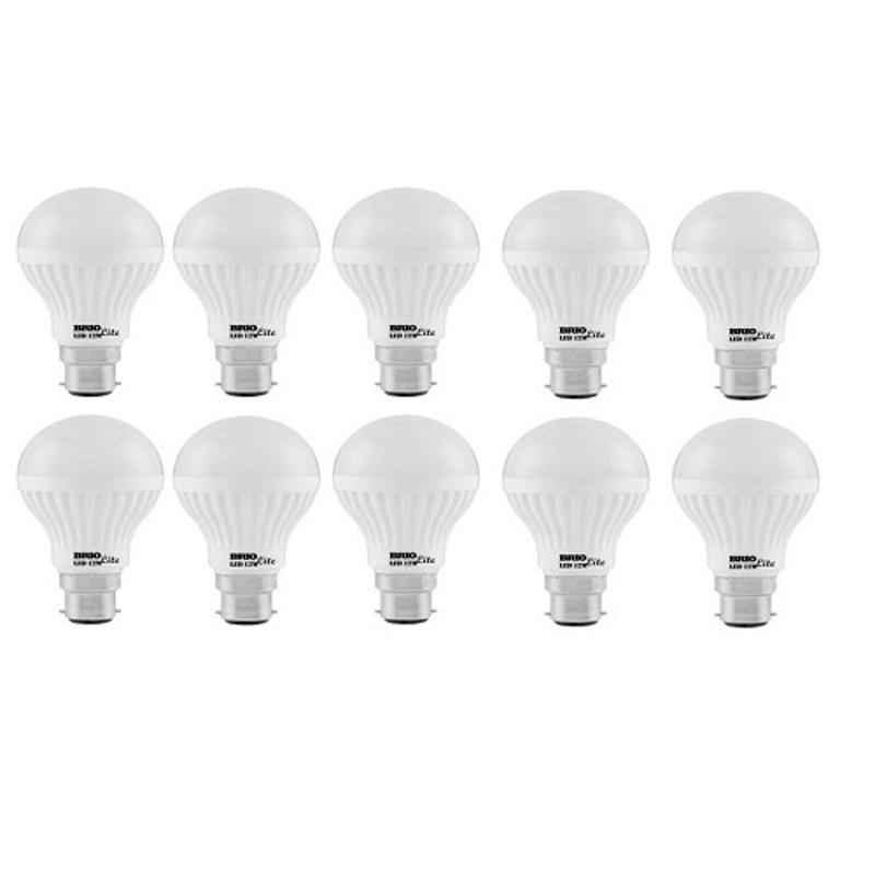 Brio 12W B-22 Warm White LED Bulbs (Pack of 10)