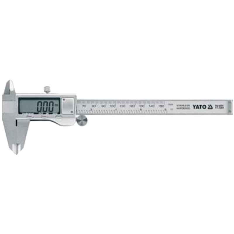 Yato 0-150mm Stainless Steel Digital Caliper, YT-7205