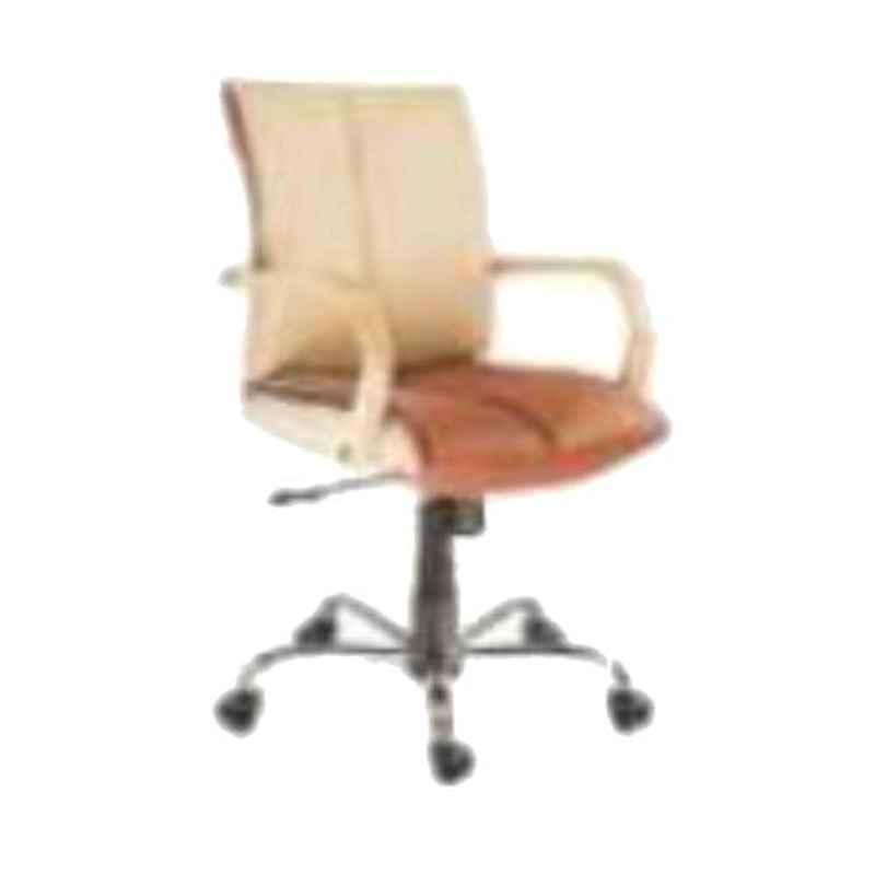 Nice Furniture Low Back Steel Base Executive Office Chair, NF-105