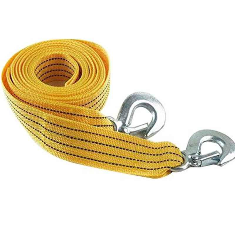 Love4ride 4m 3 Ton Yellow Long Car Tow Cable