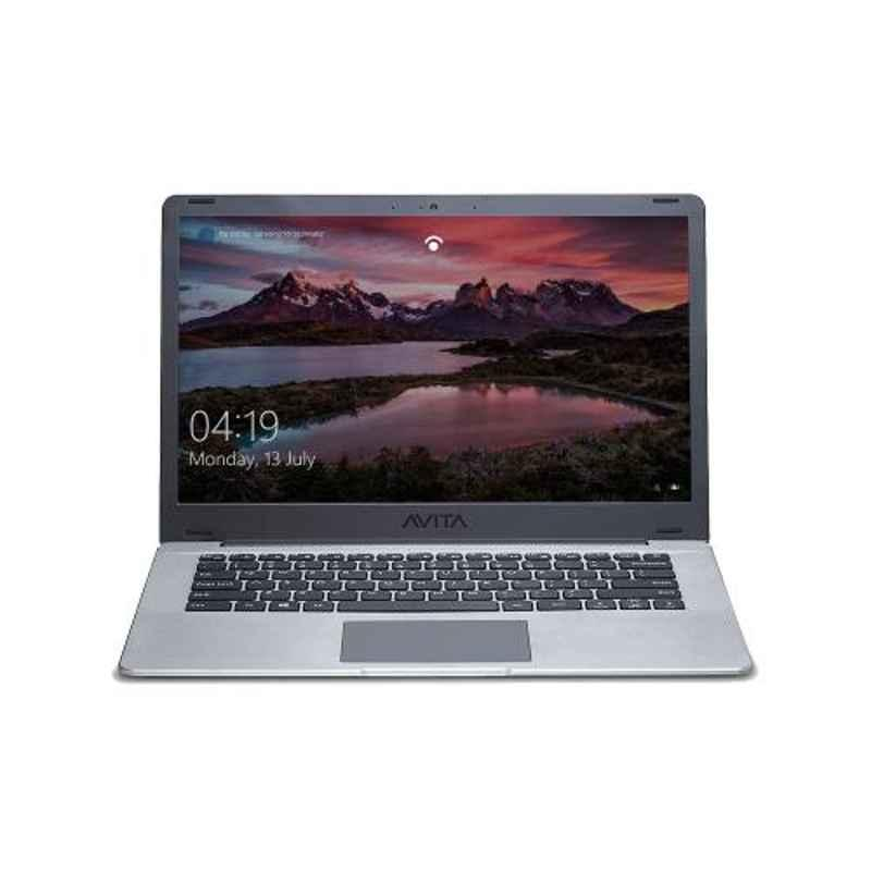 AVITA PURA 8th Gen Intel Core i3-8145U/4 GB RAM/256 GB SSD/Windows 10 Home & 14 inch Space Grey Laptop with 3-in-1 Grey Sleeve and 2 Years Warranty, NS14A6INT441-SGGYB