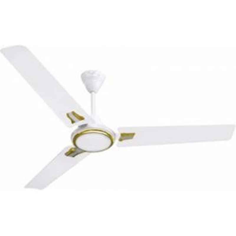 Sameer Ruby 1200mm White Copper Winding Ceiling Fan