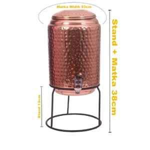 Healthchoice 5000ml Hammered Copper Water Dispenser