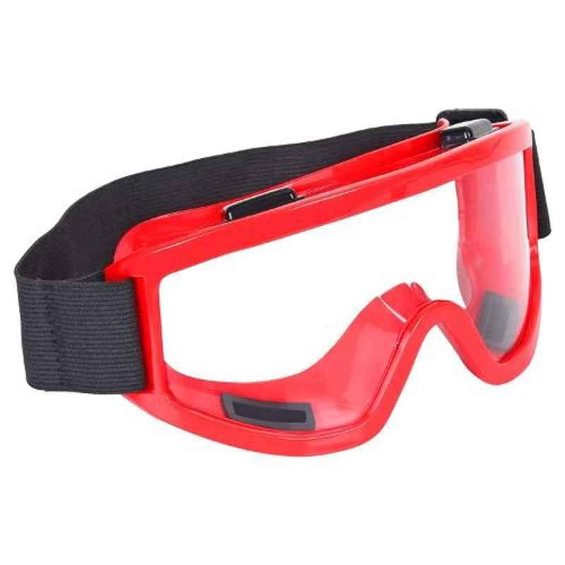 Strauss Red Bike Goggles, ST-1580